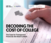 Decoding College Cost